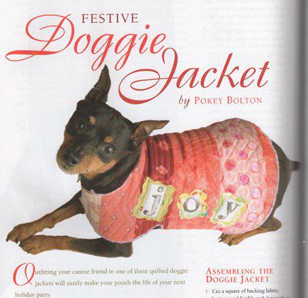 Louie Dog Jacket