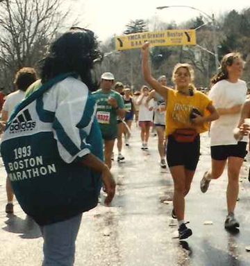 Boston Marathon 1993