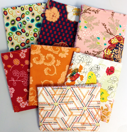 Fabrics for orange giveaway
