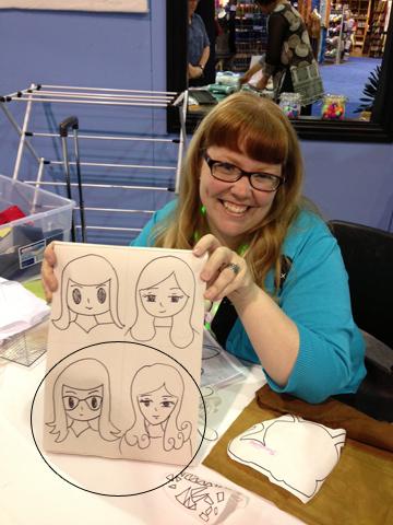 Cheryl Cartooning