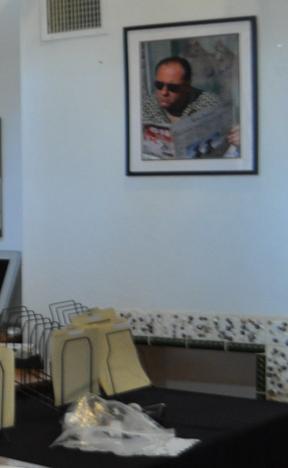 Tony Soprano office