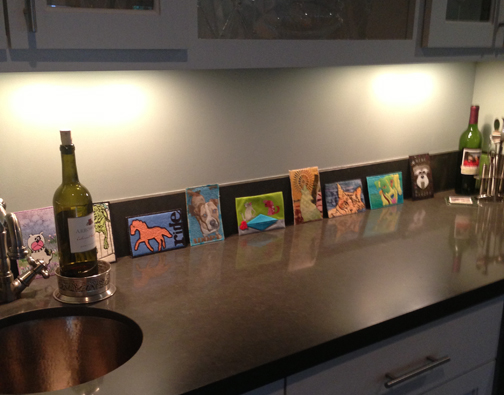 Postcards on Wine bar